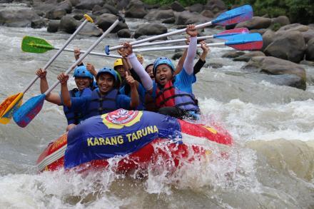 Rafting Sungai Ello Magelang