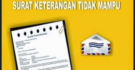 Surat Keterangan Miskin (SKM)