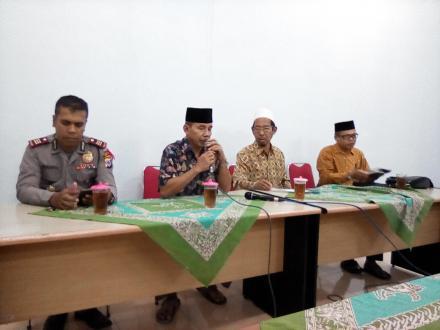 FKUB Kecamatan Pleret Mengajak Agar Tetap Menjaga Kerukunan Menjelang Pemilu 2019