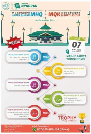 Festival Nyadran Masjid At Taqwa Wonokromo