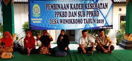 Penyuluhan Kader PPKBD dan SUb PPKBD Desa Wonokromo