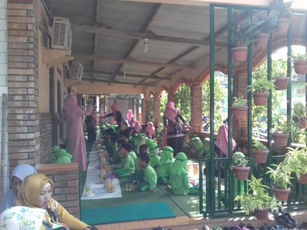 Syawalan Siswa KB/RA Permata Hati Brajan