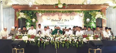 Pelepasan Calon Jamaah Haji KBIH Muslimat NU HDWR Tahun 2019 Bersama Habib Syech