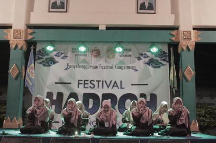 Festival Hadroh Rebopungkasan Desa Wonokromo 2019