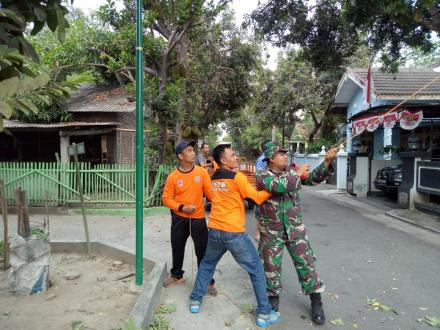 FPRB Desa Wonokromo Giat Kerja Bhakti di Dusun Jejeran I
