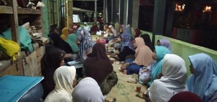 Pengajian Lailatul Ijtima' Ranting Desa Wonokromo