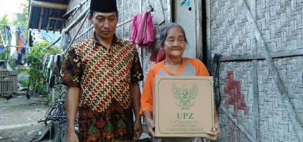 Bantuan Unit Pengumpul Zakat kepada Warga Desa Wonokromo