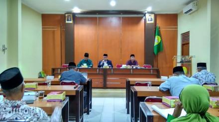 Rapat Koordinasi Penetapan Sekaligus Pelantikan Panitia Pemilihan Lurah Kalurahan Wonokromo