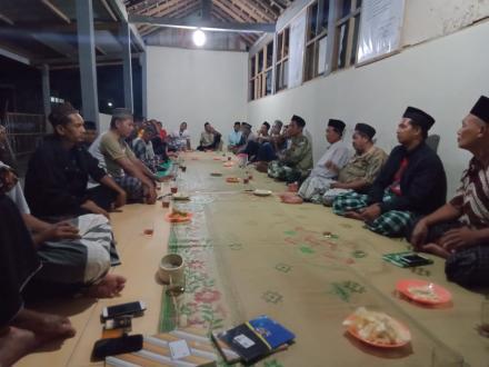 Musyawarah Kelompok Kandang Gumelar Dusun Karanganom