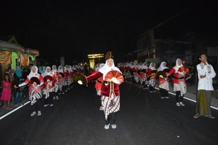 Parade Takbir Idul Adha Desa Wonokromo Tahun 2017